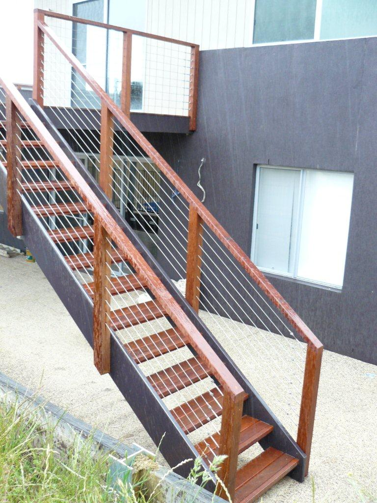 Timber balustrade systems