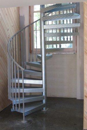 Nice Industrial Steel Spiral Staircase Geelong